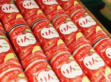 津軽のお土産 りんごジュース