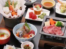 季節の会席料理×温泉を堪能