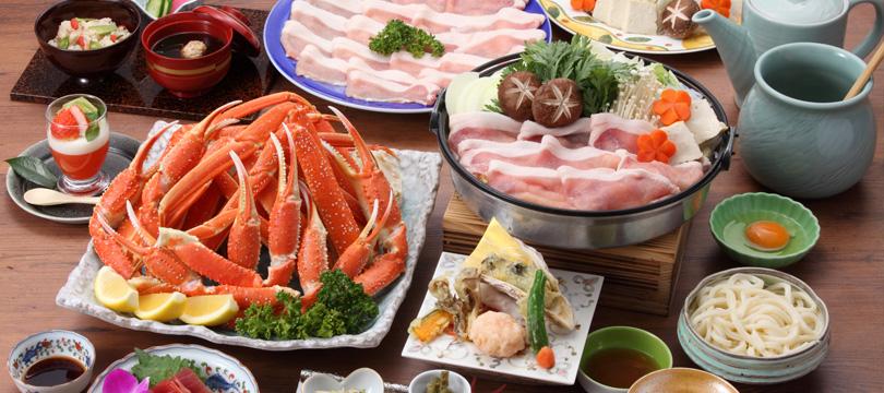 ずわい蟹食べ放題プラン