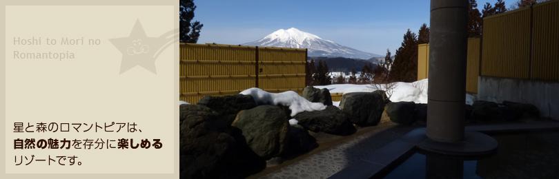 津軽富士「岩木山」を目前に天然露天温泉を満喫…本格サウナも完備!