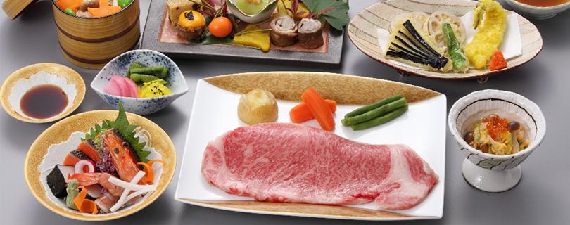【新プラン】 仙台黒毛和牛サーロインステーキ会席プラン